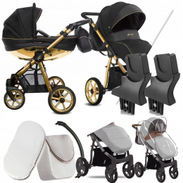 BABYACTIVE 2W1 MOMMY GLOSSY BLACK 01 | + ADAPTERY