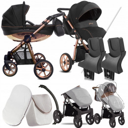 BABYACTIVE 2W1 MOMMY GLOSSY BLACK 02 | + ADAPTERY