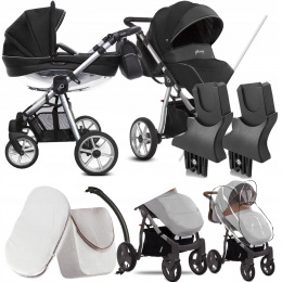 BABYACTIVE 2W1 MOMMY GLOSSY BLACK 03 | + ADAPTERY