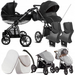 BABYACTIVE 2W1 MOMMY GLOSSY BLACK 04 | + ADAPTERY