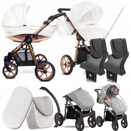 BABYACTIVE 2W1 MOMMY GLOSSY WHITE 02 | + ADAPTERY