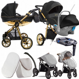 BABYACTIVE 4W1 MOMMY GLOSSY BLACK 01 I KITE+ BAZA