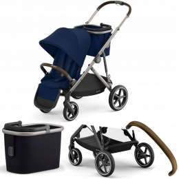 WÓZEK SPACEROWY CYBEX GAZELLE S TPE 02 NAVY BLUE