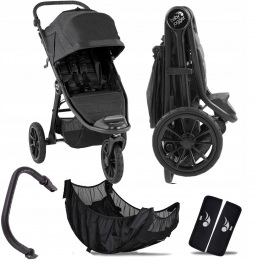 WÓZEK BABY JOGGER CITY ELITE 2 GRANITE I + PAŁĄK