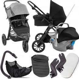 BABY JOGGER 3W1 CITY ELITE 2 BARRE I FOTELIK KITE+