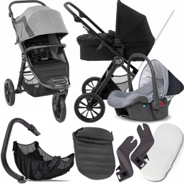 BABY JOGGER 3W1 CITY ELITE 2 BARRE I + FOTELIK