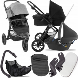 BABY JOGGER 3W1 CITY ELITE 2 BARRE I + PEBBLE PRO