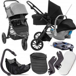 BABY JOGGER 4W1 CITY ELITE 2 BARRE I KITE+ BAZA