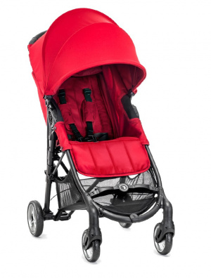 Wózek spacerowy Baby Jogger City Mini Zip kolor red + GRATIS