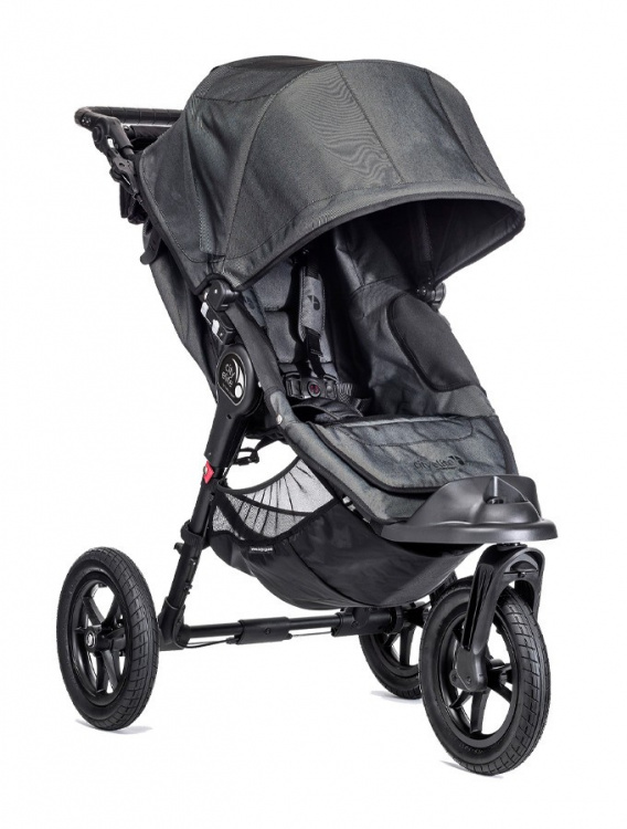 Wózek Trójkołowy Spacerowy Baby Jogger City Elite Charcoal (Denim)