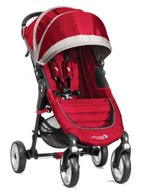 Wózek spacerowy Baby Jogger City Mini 4 W Crimson/Grey