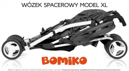 Wózek spacerowy Bomiko Model XL kolor 03 Blue