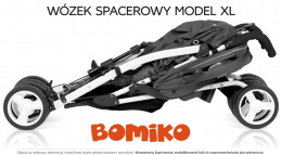 Wózek spacerowy Bomiko Model XL kolor 04 Green