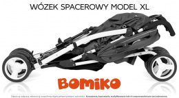 Wózek spacerowy Bomiko Model XL kolor 07 Grey