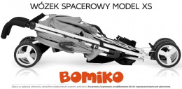 Wózek spacerowy Bomiko Model XS kolor 08 Pink