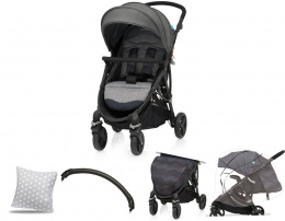 Wózek spacerowy Baby Design Smart 04 Olive