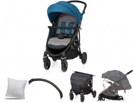 Wózek spacerowy Baby Design Smart 05 Turquoise