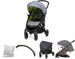 Wózek spacerowy Baby Design Smart 07 Light Gray