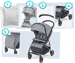 Wózek spacerowy Baby Design Sway kolor 17